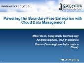 Powering the Boundary-Free Enterprise with Cloud Data Management