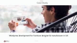 Wordpress website development for Furniture designer & manufacturer in UK