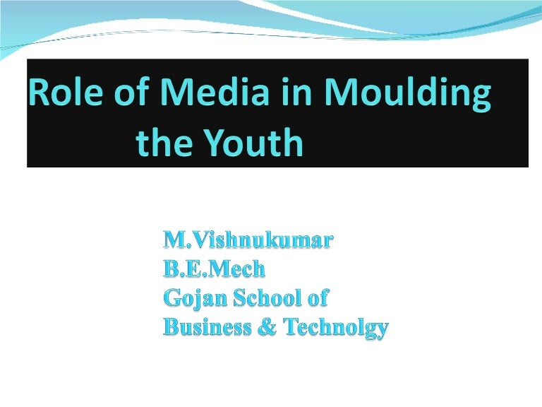 influence of media in youth children around the world