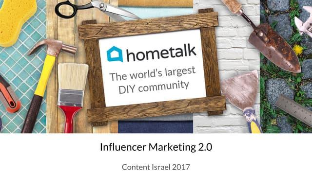 Influencer marketing 2.0   moe mernick