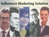 Influencer Marketing Solution