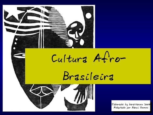Influência da-cultura-africana-no-brasil