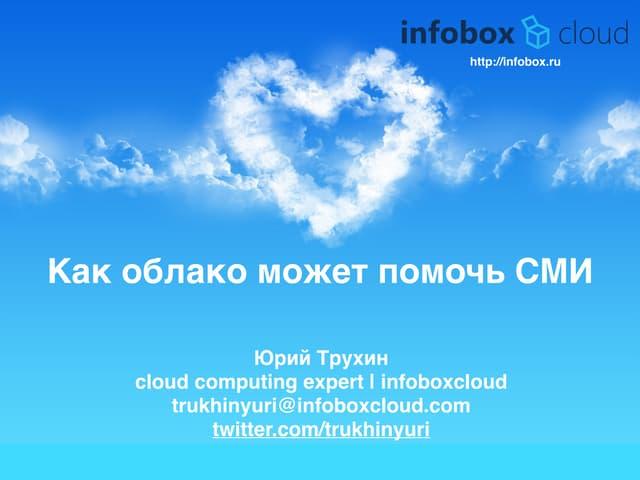 InfoboxCloud для СМИ