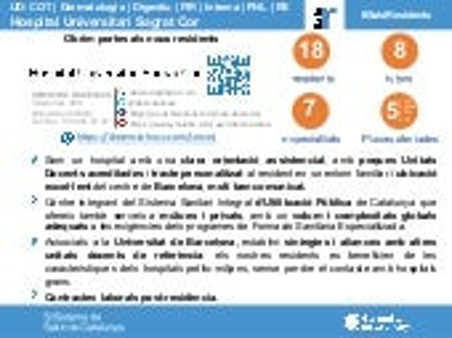 Infografia Saló del Resident HUSC 2020 (català)