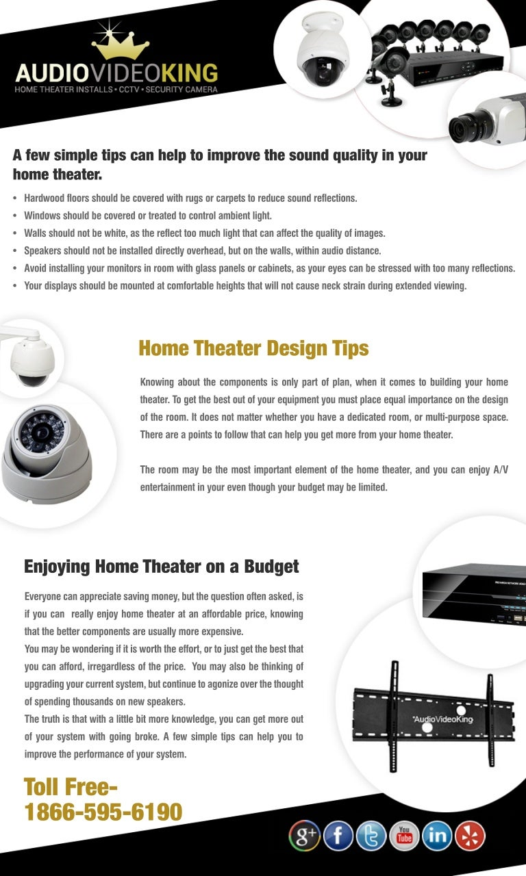 Audio Video King TV Home Theater Installation Tips