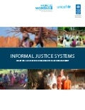 Informal Justice Systems: Charting a Course for Human Rights Based Engagement