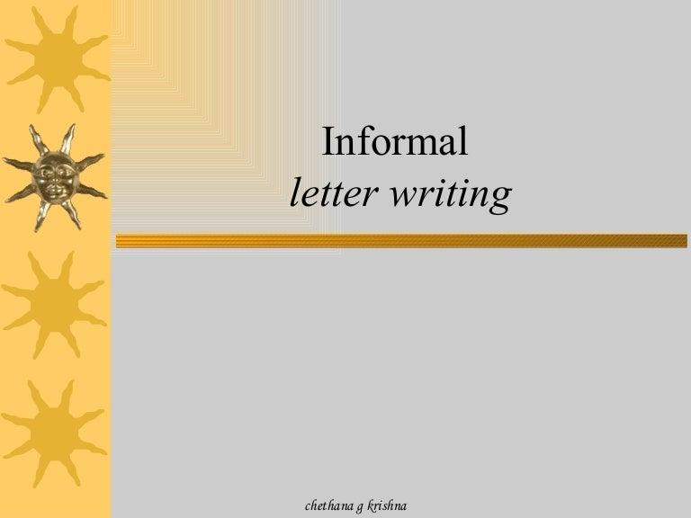 Informal letters spiritdancerdesigns Choice Image
