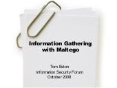 Information Gathering With Maltego