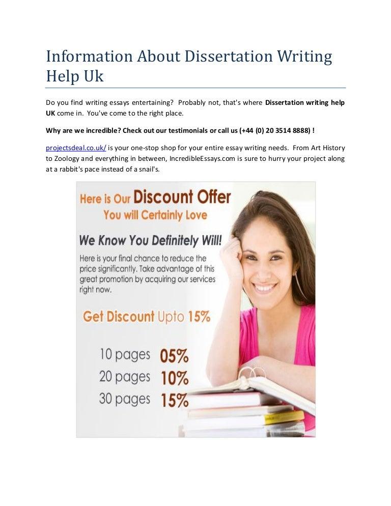 dissertation advice uk