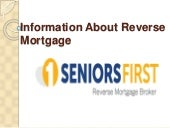 Seniors First-Reverse Mortgage Broker Australia