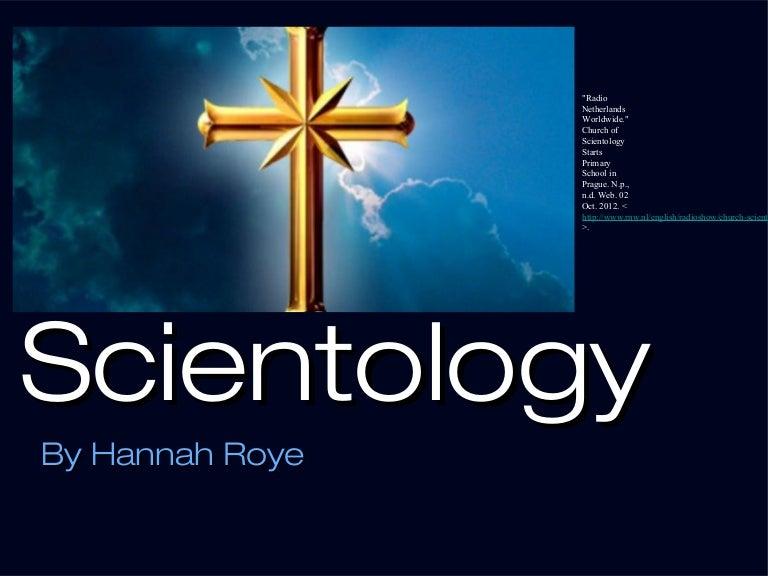 Essay about scientology