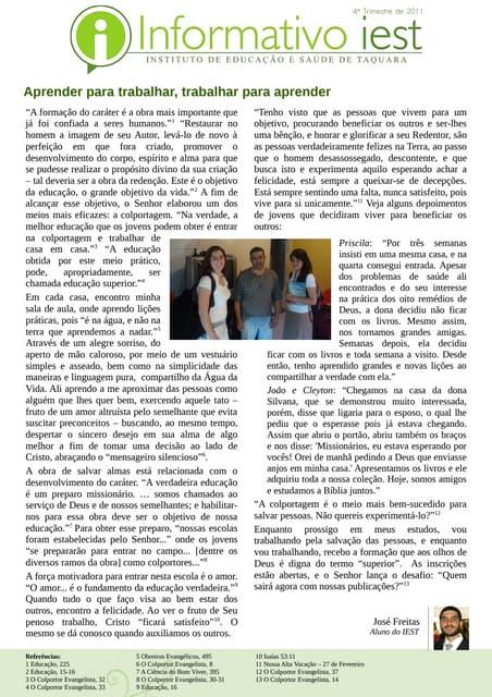 Informativo 4 tri_2011