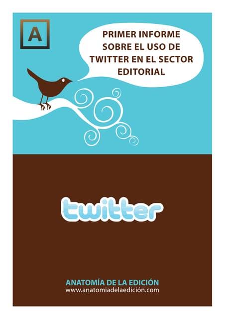 Uso de Twitter en el sector editorial