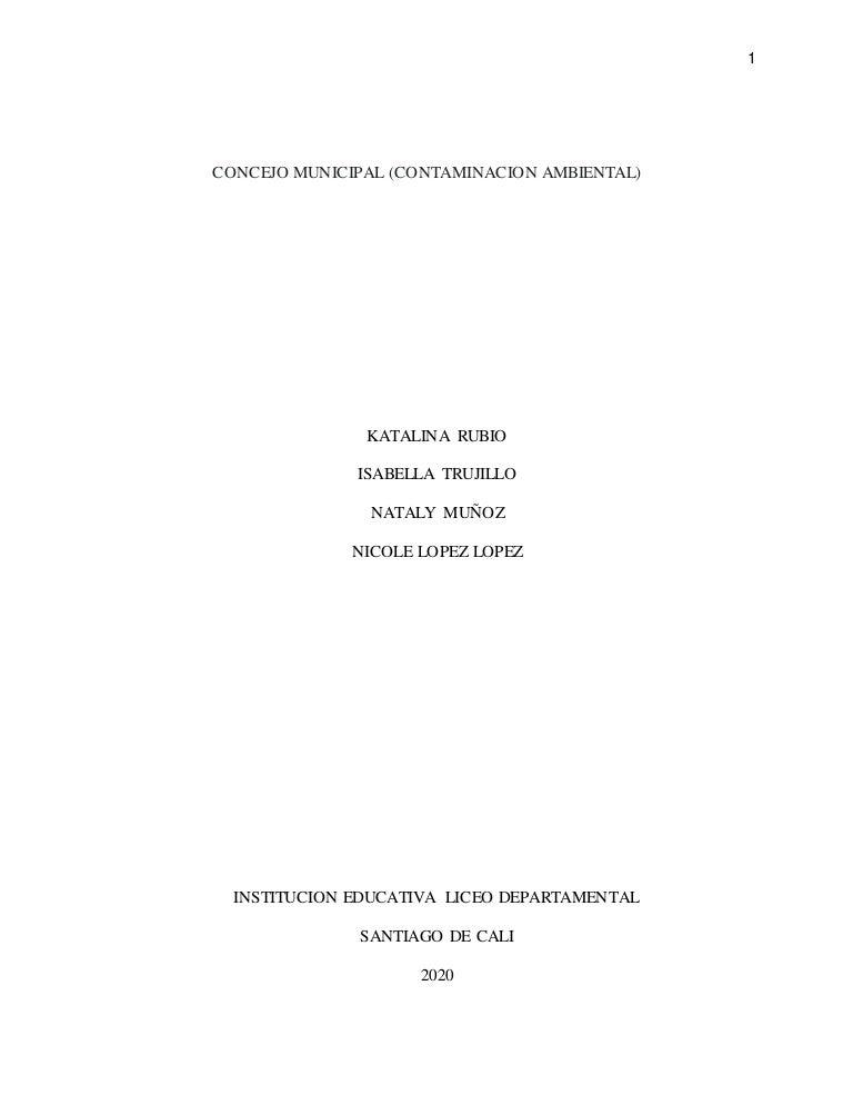 Informe contaminacion ambiental  (1)