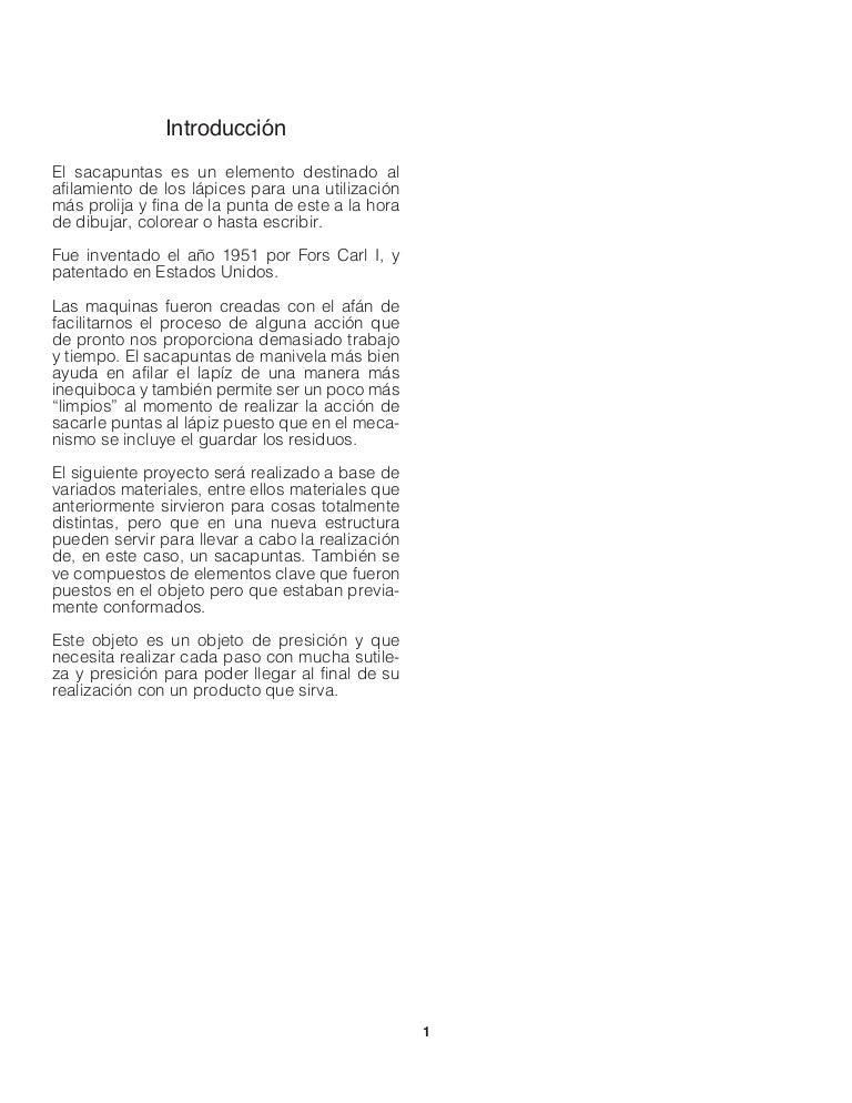 Informe Final - Sacapuntas