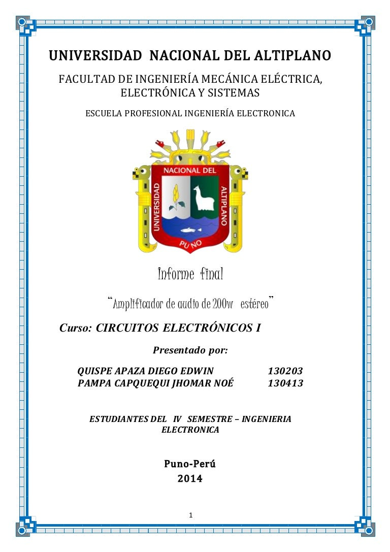 Circuito De Electronica : Extractor de señales circuitos electrónicos
