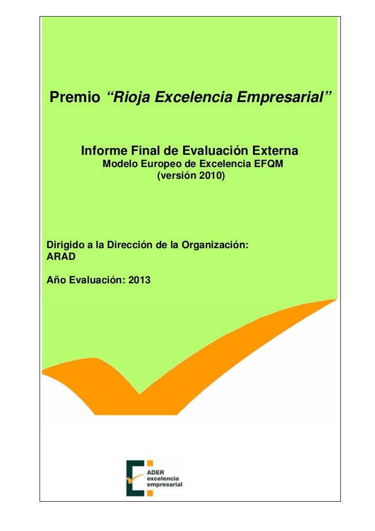 Informe final de evaluación externa rioja excel…