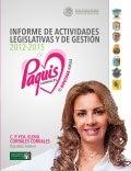 INFORME LEGISLATIVO PAQUIS CORRALES