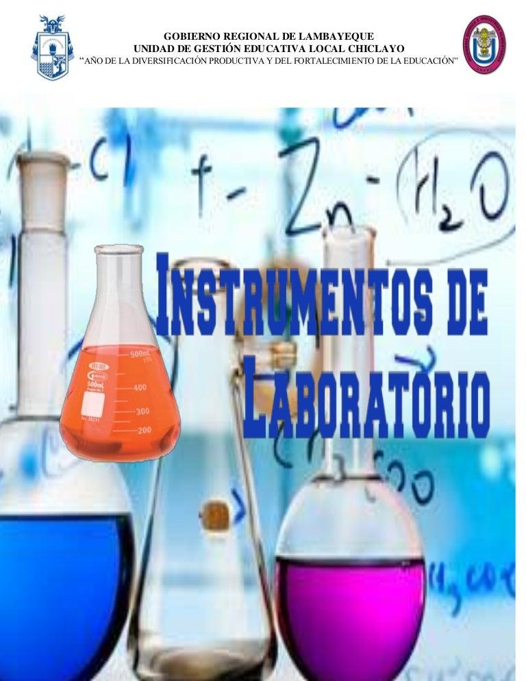 Objetos utilizados no laboratorio de quimica