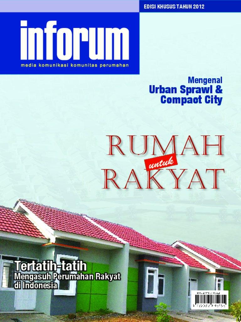 INFORUM Media Komunikasi Komunitas Perumahan Edisi Khusus Tahun 2012