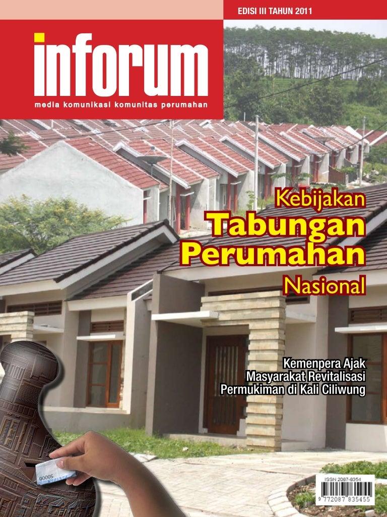 Kebijakan Tabungan Perumahan Nasional Majalah Perumahan Dan Permukim