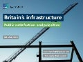 Britain's infrastructure: Public satisfaction and priorities