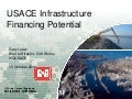 USACE Infrastructure Financing Potential  TWCA 10/13/2011