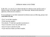 Infusion nurse cover letter