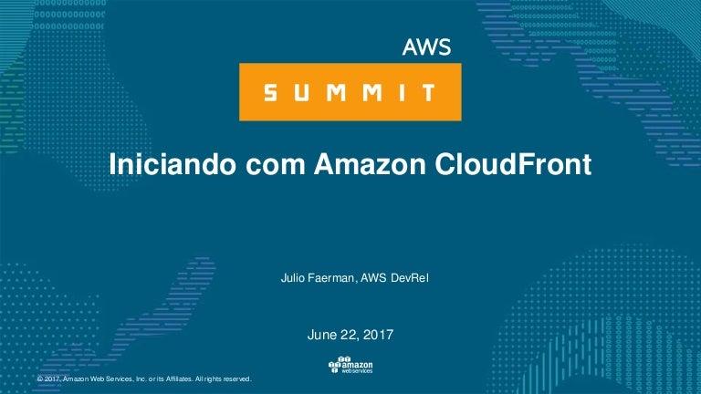 Iniciando com Amazon Cloudfront