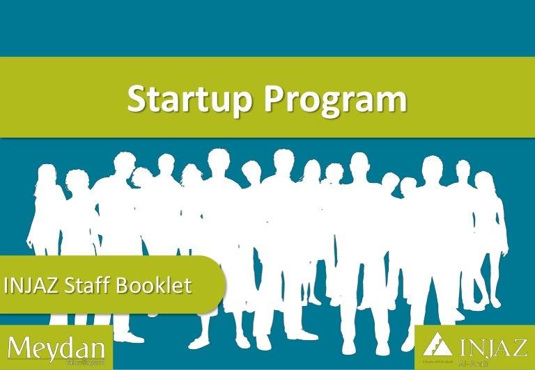 INJAZ Al-Arab Staff Booklet