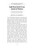 Injil Masa Kecil Yesus menurut Thomas (Bentuk Yunani kedua)