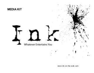 'ink' on SlideShare
