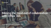 Making the most out of collaboration with Office 365