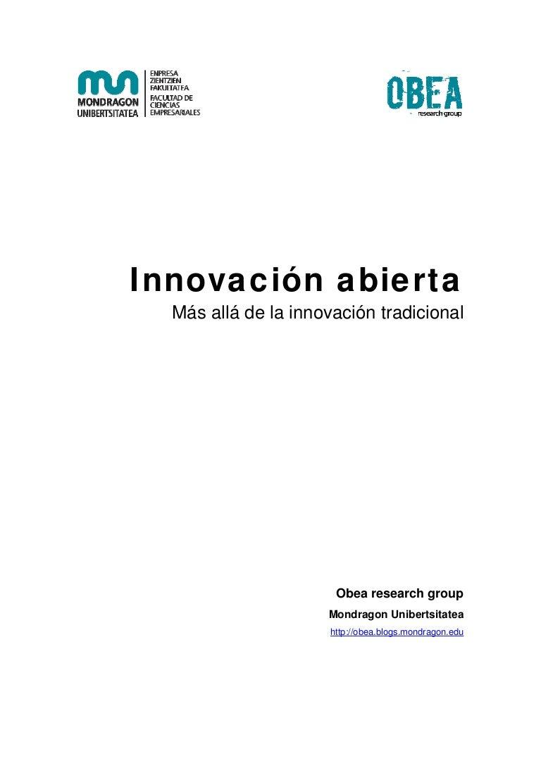 Estrategia_Estatal_Innovación Innovacion abierta: más allá de la inno…