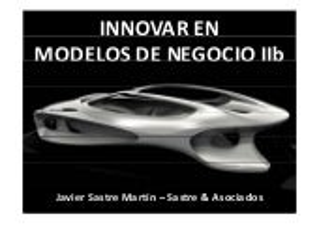 Innovar en modelos de negocio 3