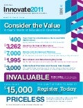 IBM Innovate 2011 -  Don't miss the Premier Event for Software and Systems Innovation