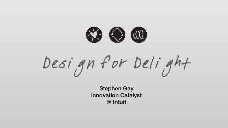 Design For Delight The Innovation Catalysts