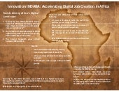 Accelerating Digital Job Creation in Africa