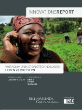 Innovationsreport Landwirtschaft Gates Foundation