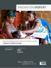 Innovationsreport Gesundheit Gates Foundation