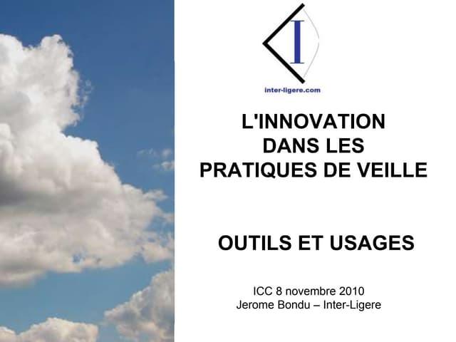 Innovation dans les pratiques de veille