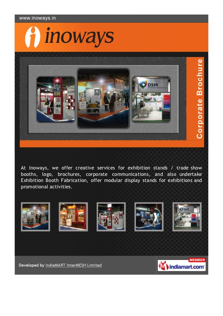 Exhibition Booth Fabrication : Inoways group of companies mumbai exhibition booth fabrication