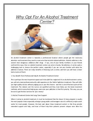 Inpatient alcohol treatment centers in los angeles