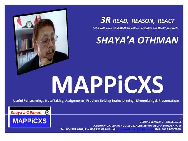 MAPPiCXS : Teknik Berfikir Seperti Genius