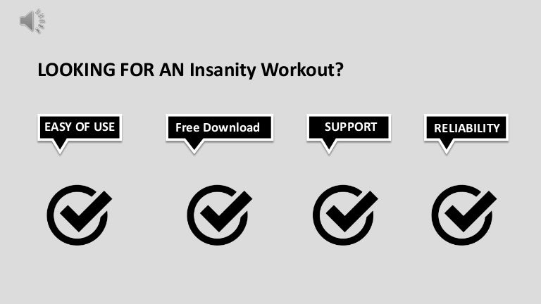Insanity Workout Download Free