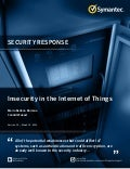 WHITE PAPER▶ Insecurity in the Internet of Things