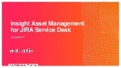 Insight Asset Management for JIRA Service Desk