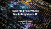 Insights From Where Marketing Meets IT