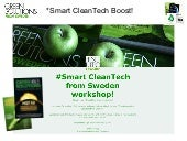All you need to know about Swedish CleanTech!!