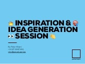 Inspiration session - Digital trends